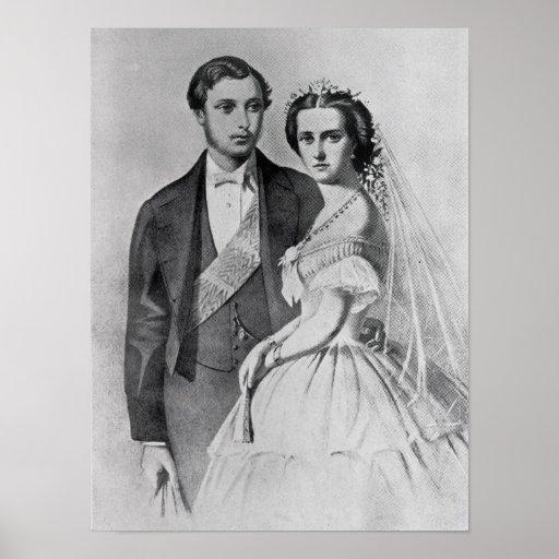 King Edward and Queen Alexandra Print