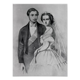 King Edward and Queen Alexandra Print