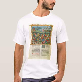 King Edward III Waging War at the Battle of T-Shirt