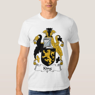 King Family Crest Shirts