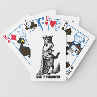 King fish:  Error by Proclamation Bicycle Playing Cards