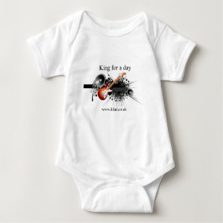 King for a day baby bodysuit