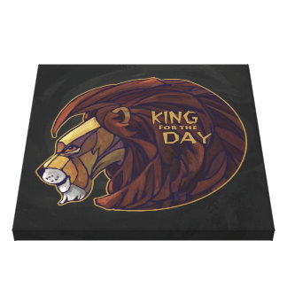 King for the Day Canvas Print