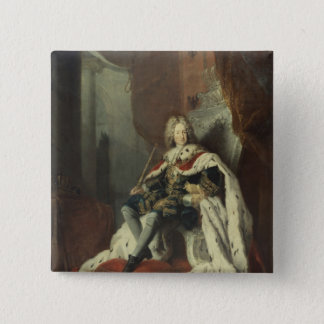 King Frederick I of Prussia 15 Cm Square Badge