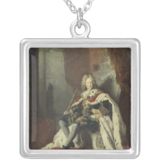 King Frederick I of Prussia Silver Plated Necklace