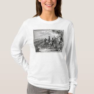 King Frederick II of Prussia  reviewing the T-Shirt