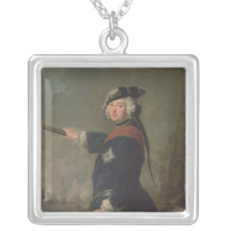 King Frederick II the Great of Prussia  1746 Silver Plated Necklace