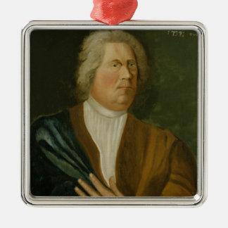 King Frederick William I of Prussia, 1737 Silver-Colored Square Decoration