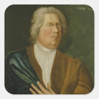 King Frederick William I of Prussia, 1737 Square Sticker
