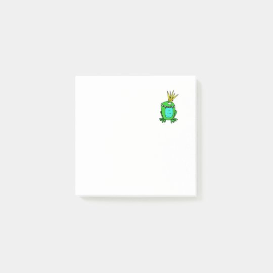 King Frog Post-it Notes