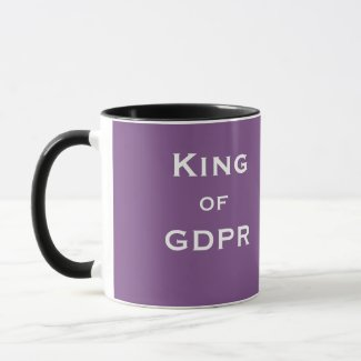 King GDPR Male Man Specialist Joke Funny Name