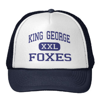 King George Foxes Middle King George Trucker Hat