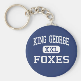 King George Foxes Middle King George Key Chain