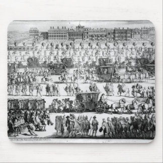 King George I procession to St. James's Palace Mouse Mat