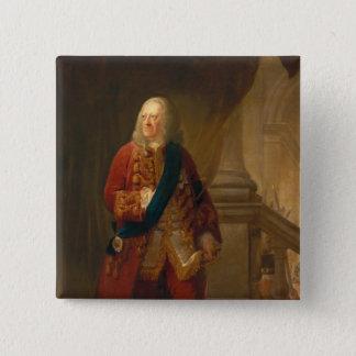 King George II, 1759 15 Cm Square Badge