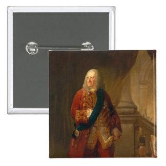 King George II, 1759 Pinback Button