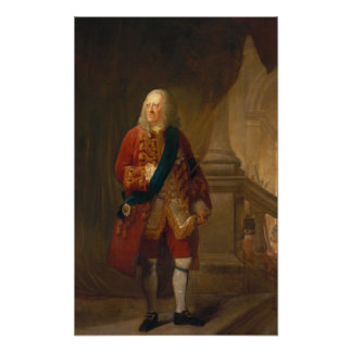 King George II, 1759 Poster