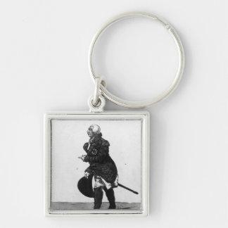 King George III, aged 72, 1810 Key Chain