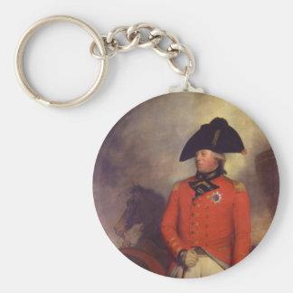King George III by Sir William Beechey Key Chains