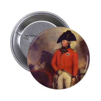 King George III in 1799 by Sir William Beechey 6 Cm Round Badge