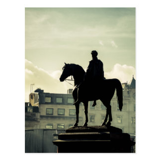 King George IV at Trafalgar Square Postcards