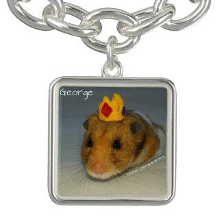 King George Charm Bracelet