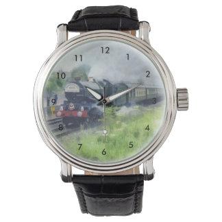 King George Steam Train Wristwatches