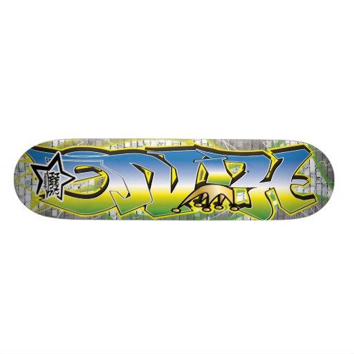 King Graffiti Skateboard