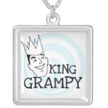 King Grampy Tshirts and Gifts Necklace