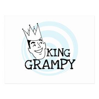 King Grampy Tshirts and Gifts Postcard