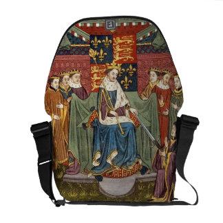 King Henry VI (1421-71) presenting a sword to John Commuter Bag