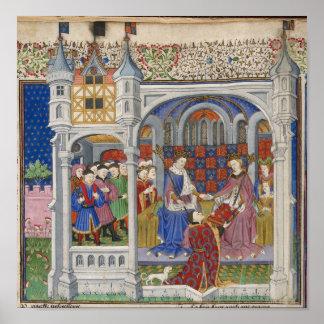 King Henry VI and Margaret of Anjou: Presentation Poster
