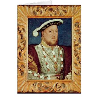 King Henry VIII Card