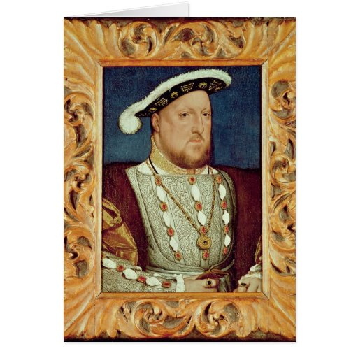 King Henry VIII Greeting Cards