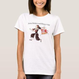 King Henry VIII chasing Queen Anne Boleyn T-Shirt