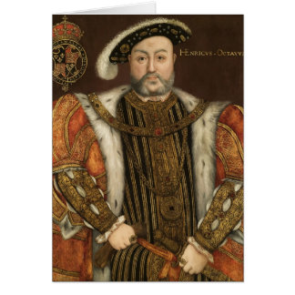 King Henry VIII Greeting Card