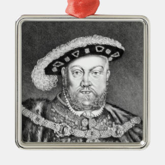 King Henry VIII  illustration Christmas Ornament