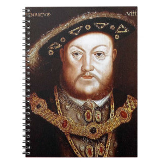 King Henry VIII Notebook