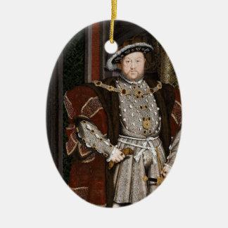 King Henry VIII of England Christmas Ornament