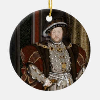 King Henry VIII of England Christmas Ornament
