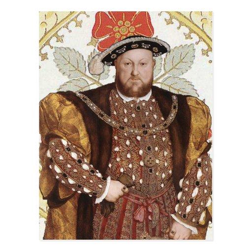 King Henry VIII of England - Portrait Postcard