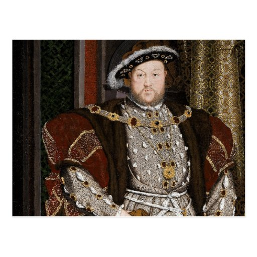 King Henry VIII of England Postcards