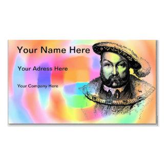 King Henry VIII Pack Of Standard Business Cards