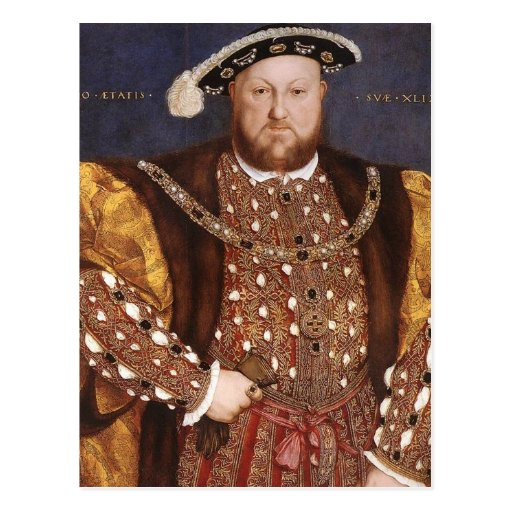King Henry VIII Post Card