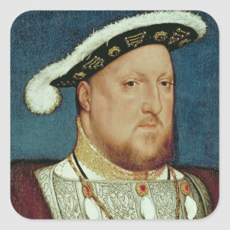 King Henry VIII Square Sticker