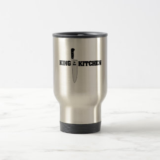 King in the Kitchen Vertical Chef's Knife Travel Mug