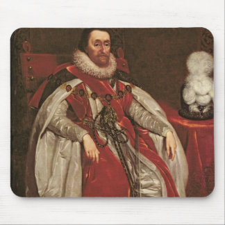King James I of England and VI of Scotland, 1621 Mouse Mat