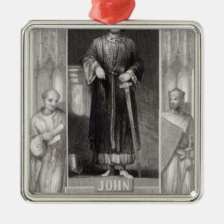 King John Christmas Ornament