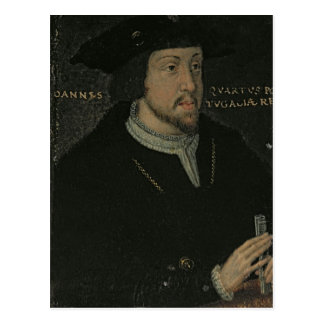 King John I 'the Great', or 'the Bastard' Postcard