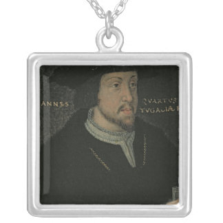King John I 'the Great', or 'the Bastard' Silver Plated Necklace